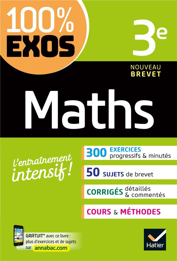 MATHS 3E   EXERCICES RESOLUS